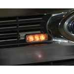8891403 on truck grille applicaton. Add some golden bling to your grille.