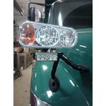 8891004 Amber LED Rect Strobe on Truck Application