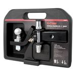 CURT Hitch 2 IN Loaded Ball Mount Kit