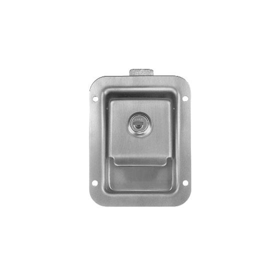 Stainless Steel Recessed Single Point Locking Latc