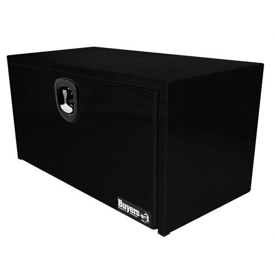 Black Steel Underbody Tool Box with 3Point Latch 2