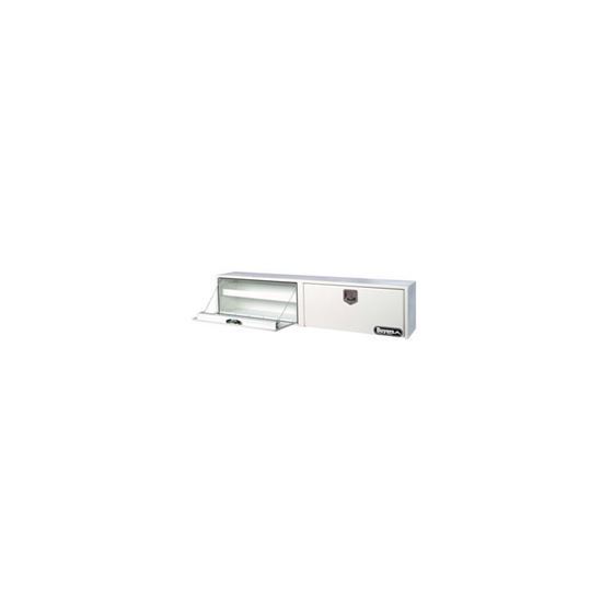 White Steel Topside Tool Box with Double Door and