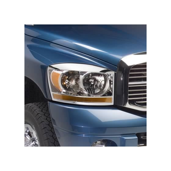 Chrome Headlight Trim Sets