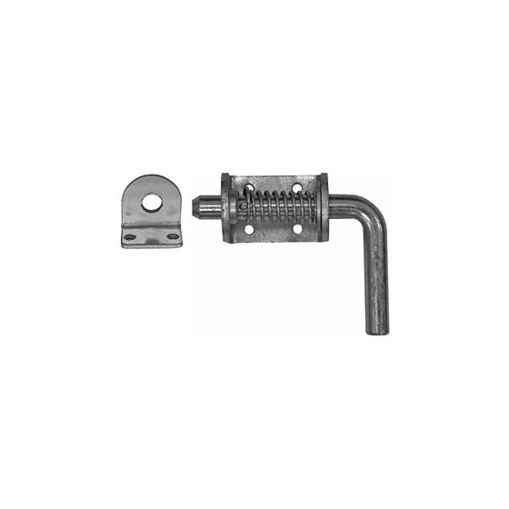 """3/4"""" Zinc Spring Latch with Keeper Image"""