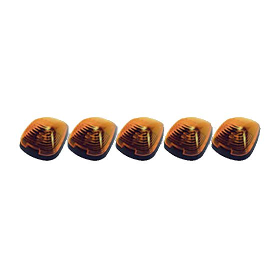 8892000 Amber Ford Roof Marker Set of 5 - 2