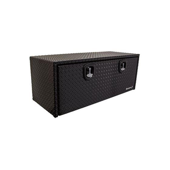 Black Aluminium Underbody Tool Box 18 H x 36 W x 1