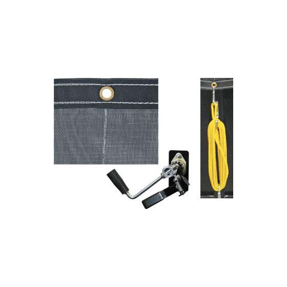 DTR55008 Mesh Roll Tarp Kit for Buyer