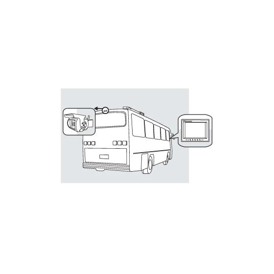 8881200 Rear Observation Camera System Drawing