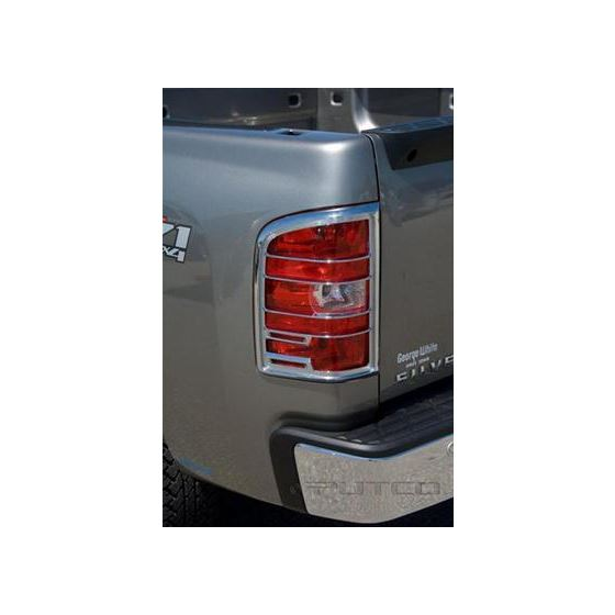 Chrome Taillight Trim Covers