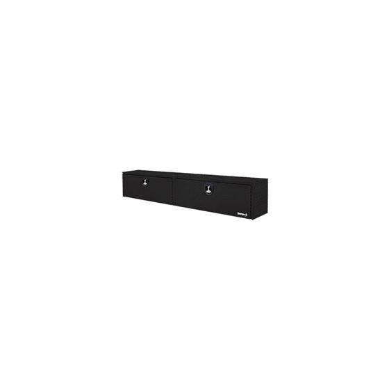 Black Aluminium Topside Tool Box 16 H x 88 W x 33