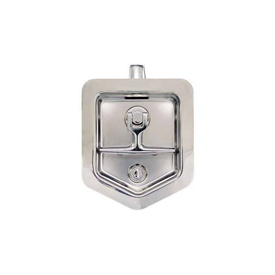 Polished Stainless Steel Single Point T Handle Latch