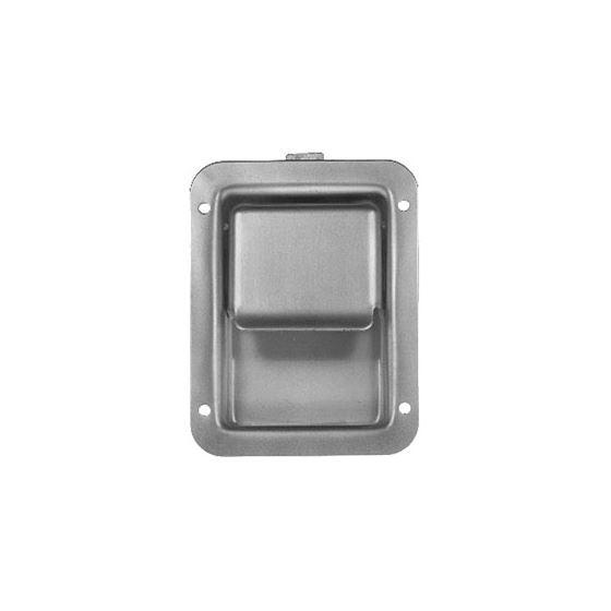 Steel Flush Single Point Non-Locking Latch