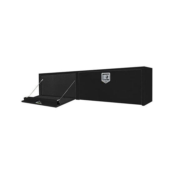 Black Steel Topside Tool Box with Double Door and