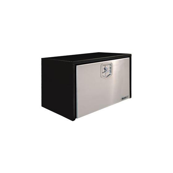 """1703700 Black Steel with Stainless Steel Door 14"""" H x 24"""" W x 16"""" D"""