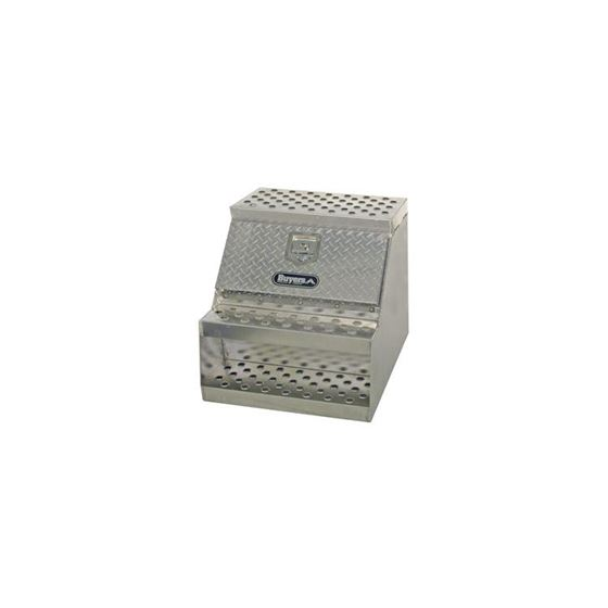 Aluminium Stepbox Tool Box SS THandle 24 H x 24 W