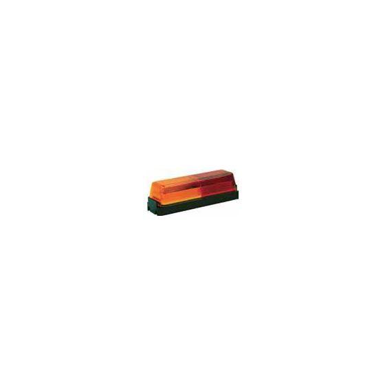 5623711 Rectangular Red and Amber Marker Lig