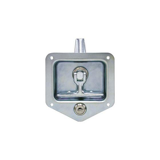 L8915 Galvenized Steel Locking T-Handle Latch