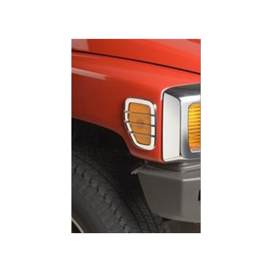 Chrome Trim Side Marker Lamp Covers