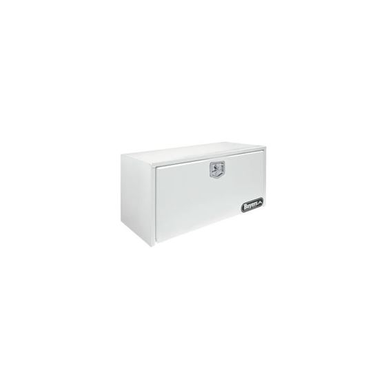 White Steel Underbody Tool Box with SS THandle 24