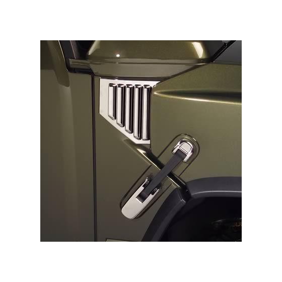Chrome Hood Lift Handle Covers