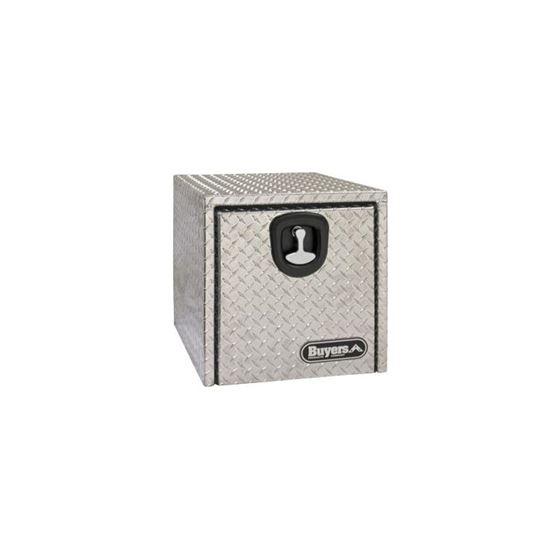 Aluminium Underbody Recessed Door Tool Box 24 H x
